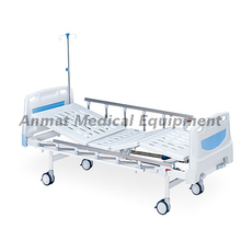 Best Selling Manual 2 Cranks Medical Bed Hospital Patient Bed