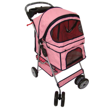 Pet Dog Stroller Carrier with Wheels