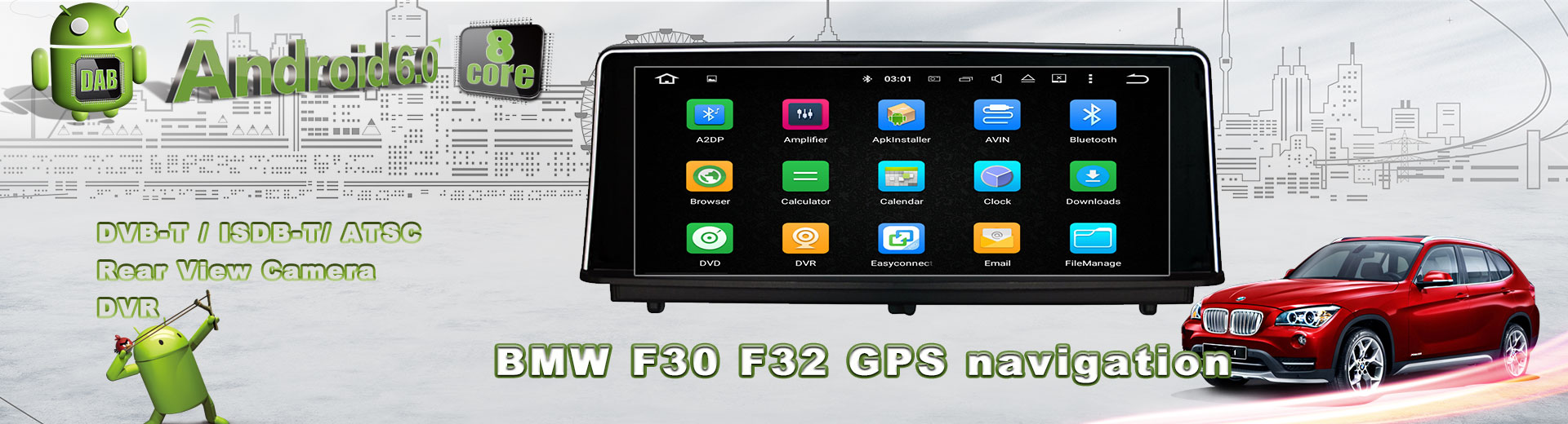 BMW android car video GPS