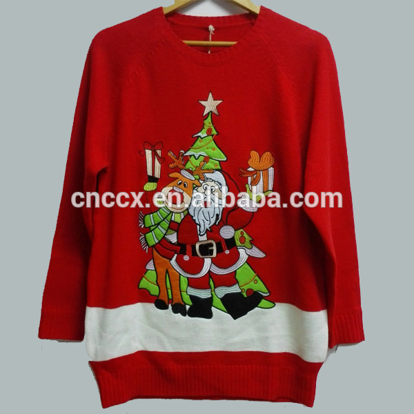 17STC8107 Unisex China Christmas Sweater
