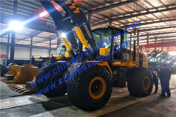 LW500HV wheel loader