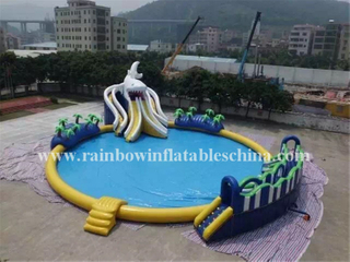 RB32015(dia15m) Inflatable Commercial Giant Floating Water Park For Adults