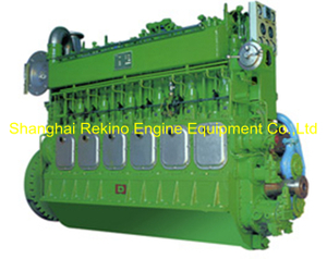 500-1000HP Ningbo CSI Ningdong medium speed marine diesel engine (6300)