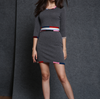 PK17CS520 knit wool cashmere knitted lady sweater design dress