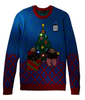 PK1876HX Ugly Christmas Sweater Light Up With Led