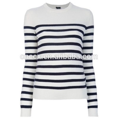 15STC6712 striped sweaters cashmere