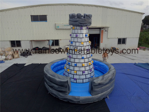 RB13018(5x5x5m) Inflatable Small Climbing Tower Sport Game For Theme Park