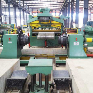 heavy plate steel cut to length machine