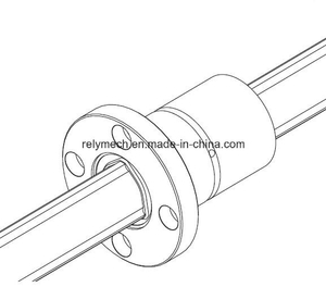 Lbf Medium Load Ball Spline/Linear Motion Spline/Linear Ball Spline with Flange