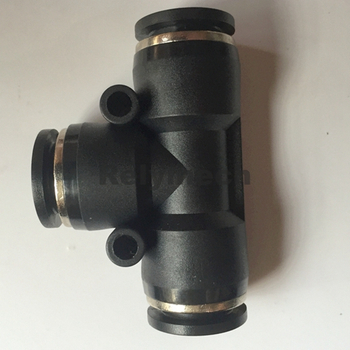 PE Union Tee Air Fitting for Tube Connection (PE04~16)