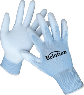 Blue PU GLOVES