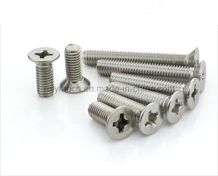 Fasteners Stainless Steel Phillip Head Screw/Cross Screw/Countersunk Screw M2-M3