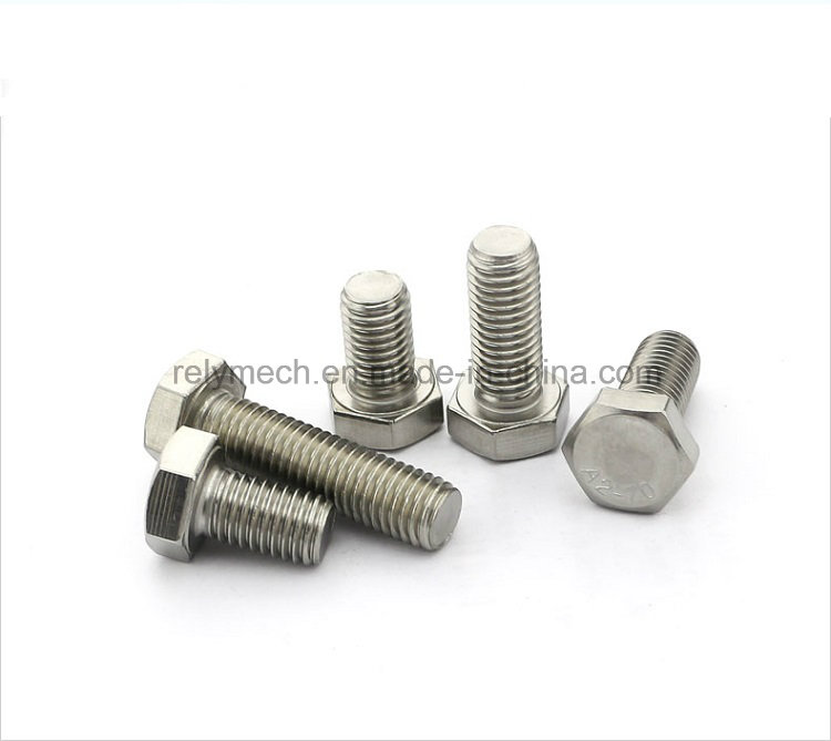Stainless Steel 304 Hexagon Cap Screw/Hexagon Bolt M10