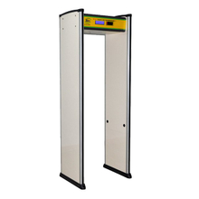 18 Zones LCD Walk Through Metal Detector Gate