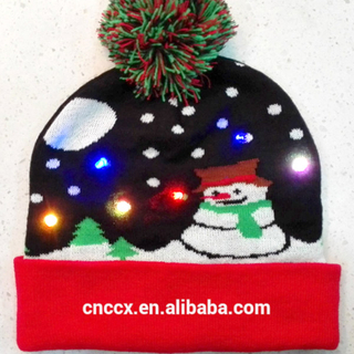 knit-LED-christmas-beanie