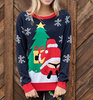 2019 lady cute sexy new ugly christmas sweater xmas sweater