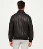 P18E028BW Latest fashion hot sale custom leather jacket for man all seasons