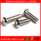 Stainless Steel Pan Head Round Head Hex Socket Bolt M2-M16
