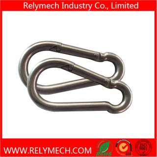 Stainless Steel Carabiner Spring Snap Hook for Chain Rigging