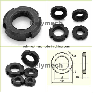 GB812 Round Nut/Slotted Nut/Round Slotted Nut/Lock Nut