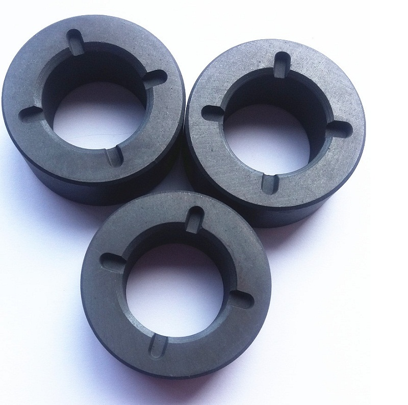 Ferrite Ceramic sintered magnet ring for Refrigerator compressor motor ring