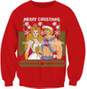 15CSU065 2017 Unisex ugly christmas sweater Khan and She-Ra