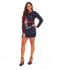 PK1813HX You Look Ugly Today! Christmas Sweater For Dress Women ugly