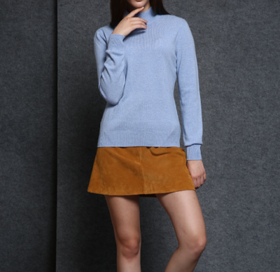17PKCS483 2017 knit wool cashmere knitted lady sweater
