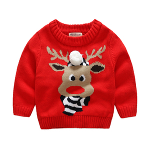 PK18A61YF kids christmas sweater