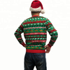 OEM Unisex adults ugly christmas sweater manufacturer with LED lights