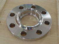 Forged and machined carbon steel flange supplied by Qingdao Haozhifeng