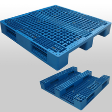 3 Runners open deck plastic pallet L1200*W1200*H180mm
