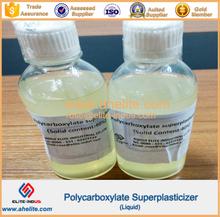 high range concrete Polycarboxylate superplasticizer liquild 40% 50%