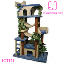 Decorative Cat Tree Wood Cat Tree