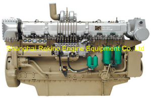 720HP 1200RPM Weichai medium speed marine diesel engine (8170ZC720-2)