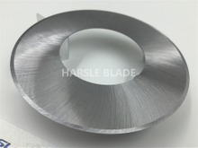 100X50X0.6mm plastic cutting machine blades, plastic film slitting blade