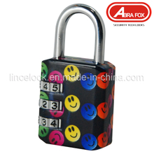 Zinc Alloy Colour Heat Plated Design Combination Padlock (801-6)