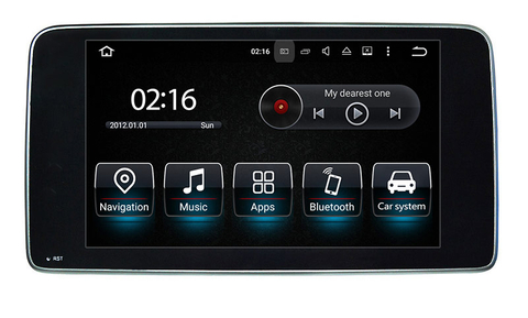 "in car dvd player 9""Benz CLA GLA car stereo"