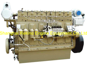 275HP 850RPM Weichai medium speed marine diesel engine (R6160ZC275-5)