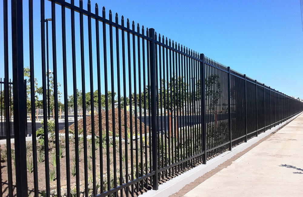 Galvanized for steel fence prefabricated