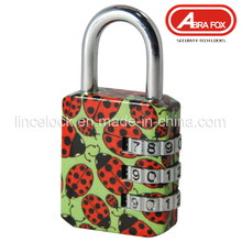 Zinc Alloy Colour Heat Plated Design Combination Padlock (801)