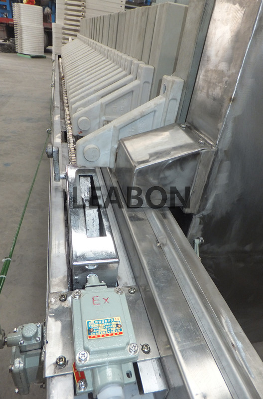 Food Grade Stainless Steel Filter Press