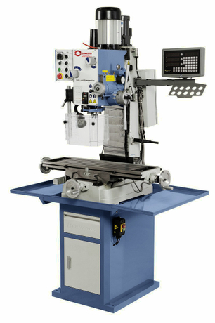 AUTO FEEDING GEARED HEAD DRILLING AND MILLING MACHINE EUROPE STYLE J-ZX45AD DRO