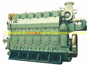830HP-1500HP Zichai medium speed marine diesel engine (LB6250)