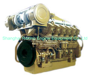 1360-1630HP JDEC Jichai long stroke 4000 marine medium speed diesel engine (L12V190)