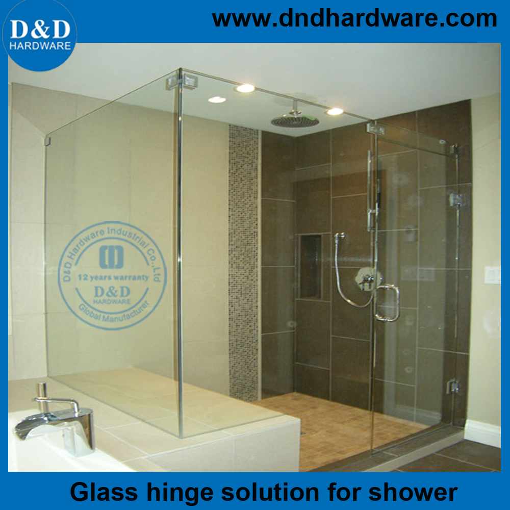Ddgh002 Stainless Steel 316 Glass To Glass Shower Hinges For