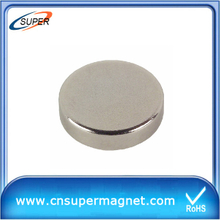 High Grade 12*2mm Motor Neodymium Disc Magnet