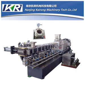 TSE-50 PET Recycling Compounding Parallel Co-rotating Twin Screw Plastic Extruder Compound Machine