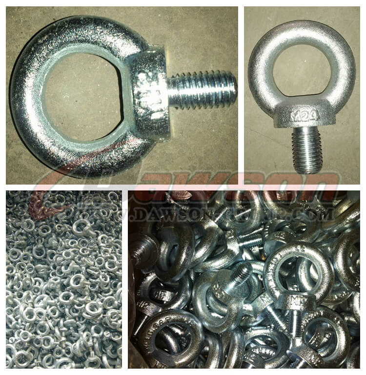 DIN 580 Galvanized Eye Bolts Lifting Eye Screw - Dawson Group Ltd. - China Manufacturer, Supplier, Factory
