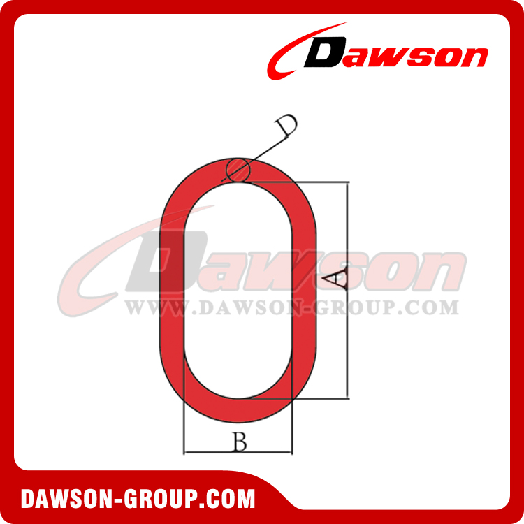 DS487 G80 EUROPEAN TYPE MASTER LINK - DAWSON GROUP LTD. - CHINA MANUFACTURER